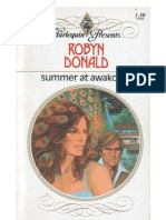 60244944 Robyn Donald Summer at Awakopu
