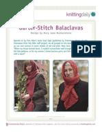 Garter Stitch Balaclavas-A