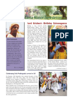 Bhaktivedanta Manor Newsletter  October 2011