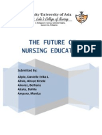 Future of Nursing Ed