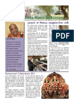 Bhaktivedanta Manor Newsletter May 2011