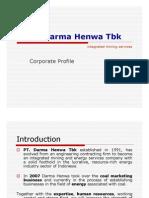 ABOUT DARMA HENWA PRESENTATION