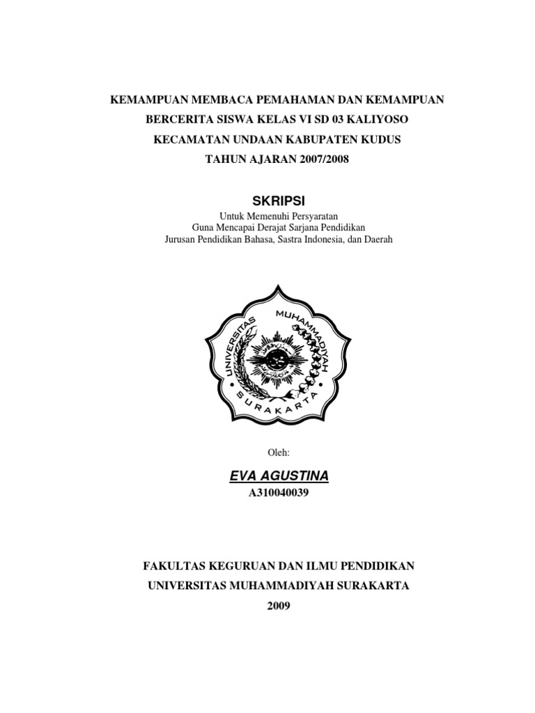 Contoh Judul Karya Ilmiah Bahasa Indonesia Ilmusosial Id