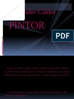 CALDER PINTOR