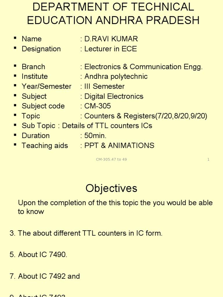 Cm305 Electronic Engineering Electronics 7493 Datasheet