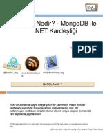 NoSQL Nedir MongoDB ile .NET Kardeşliği