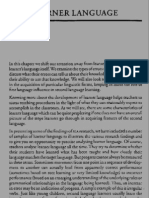 Learner Language