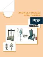 Catalogo SOLOTEST AreiaFundicao Metalografia