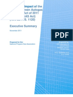 Executive Summary ICF Econ Impact of Propane GAS Act 2011