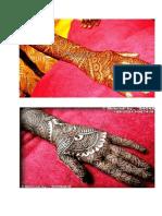 Mehndi Design 1
