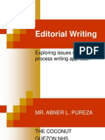 Editorial Writing Lecture