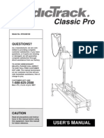 Nordictrack Manual