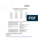 ACI 211.5R-01 Guide for Submittal of Concrete Proportions