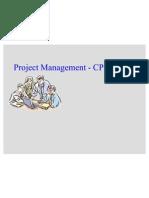 Project Management - CPM-PERT