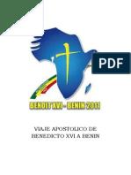 Viaje Apostolico Benedicto Xvi a Benin