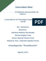 Investigacion problemas psicosociales de Mexico Prostitución