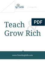 Teaching Sells Teach and Grow Rich 2011