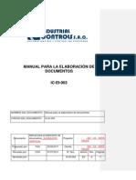 Manual para la Elaboración de Documentos RevA