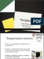Interfacing Peripherals on the arduino