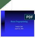 Brain Fingerprinting Presentation