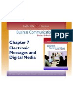 7ed Chapter 7 Electronic Messages & Digital Media