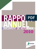 03222011 Press Publication 2010 Annual Report Fr