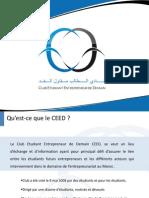 Presentation Officiel CEED