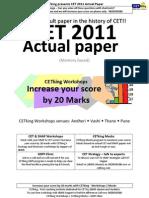 CETking'sCET2011Actualpaperrevised1.1