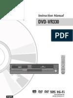 Samsung DVD VR330 Manual