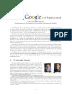 Algebra Lineal y Google