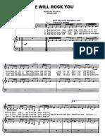 Queen Sheet Music-song Book