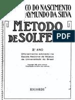 08. MÉTODO DE SOLFEJO - Frederico do Nascimento & José Raymundo da Silva