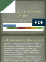 La historia de Grecia, características
