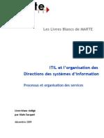 Itil Et l ion Des Centres de Production