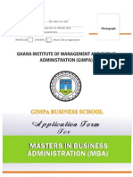 Aplication Mba