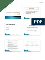 Derivatives 1 [Compatibility Mode]