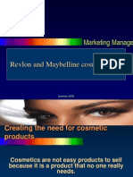 Revlon and Maybelline