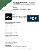 3 Proyectos Institucionales en Educacion Ambiental