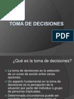 TOMA DE DECISIONES22