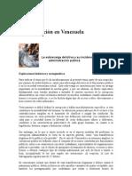 La Corrupción en Venezuela