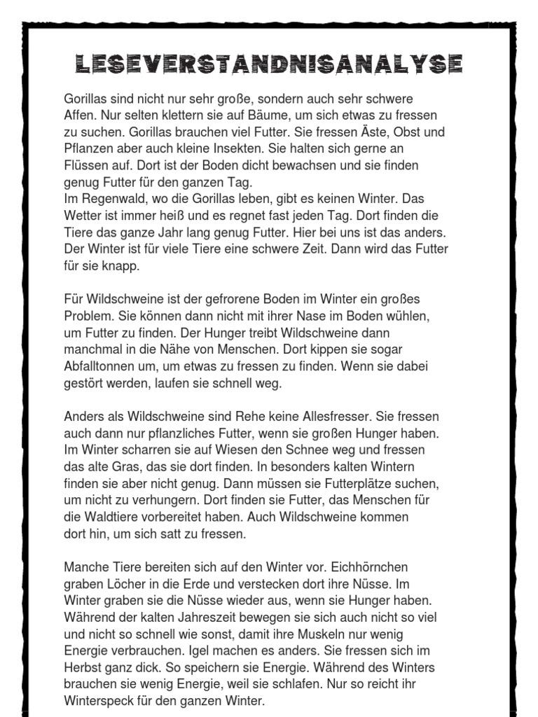 Atemberaubend Leseverständnis Einer Tabelle 1 Jahr Zeitgenössisch ...