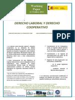 DERECHO LABORAL Y DERECHO COOPERATIVO - LABOUR LAW AND CO-OPERATIVE LAW (Spanish) - LAN ZUZENBIDEA ETA KOOPERATIBEN ZUZENBIDEA (Espainieraz)