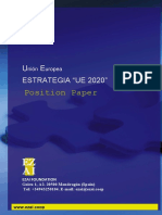 EUROPA2020 positionSpanish