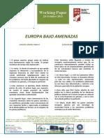 EUROPA BAJO AMENAZAS - EUROPE UNDER THREAT (Spanish) - EUROPA MEHATXUPEAN (Espainieraz)