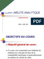 Sup Deco Institut Mercure Cours Compta Analytique