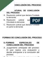 Dpc II - Formas de Conclusion Del Proceso