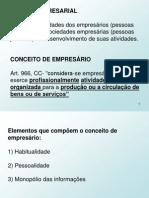 Aula 1.Empresario e Estabelecimento