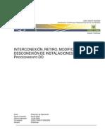 2009 03 01 Inter Cone Xi On Modificacion y Retiro Instalaciones