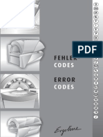 1321 Ergoline Error Code Guide