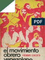 El Movimiento Obrero Venezolano-Libro